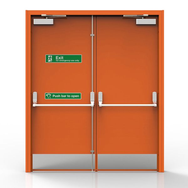 Fire Doors Double Leaf Fire Proof Doors Manufacturer In India